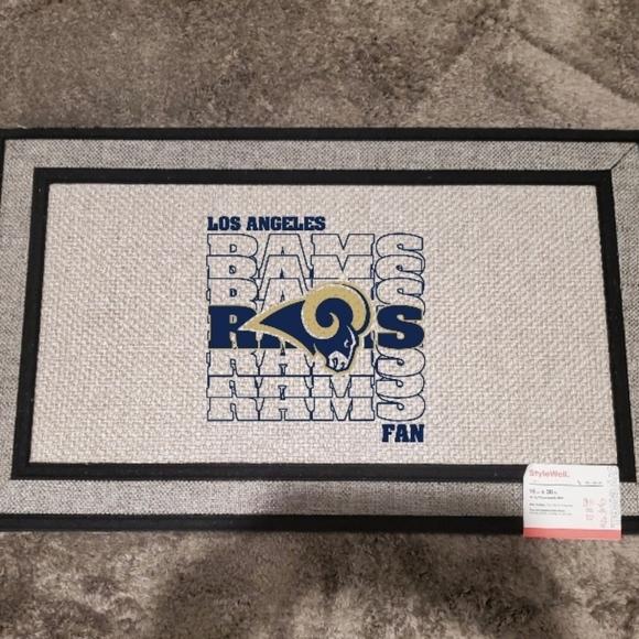 Rams Fan doormat